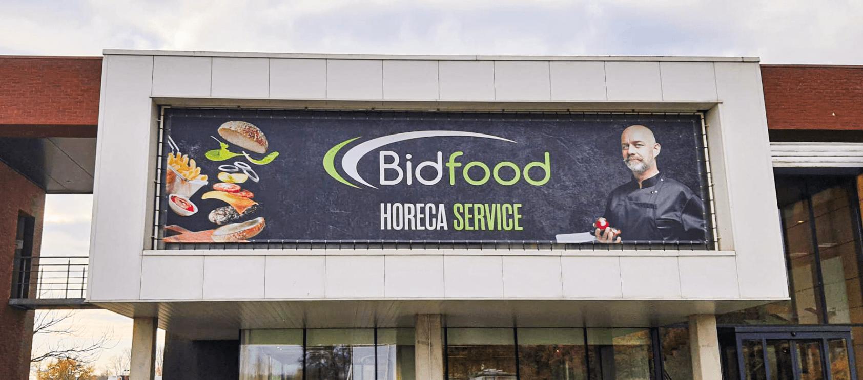 Bidfood Buitenreclame